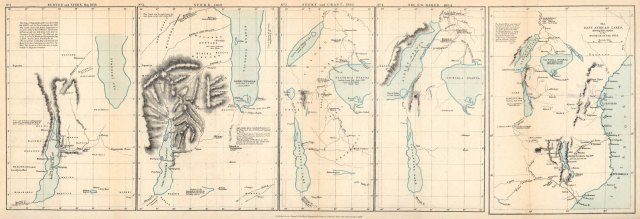 East African Lakes, shewing their relation to the Source of the Nile - Royal Geographical Society