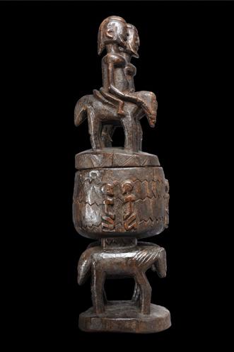 Coppa cerimoniale. Scodella per uso esclusivo dell'Hogon, il capo spirituale dei Dogon.