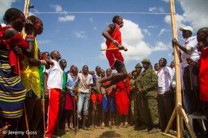 salto in alto. Masai