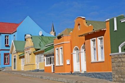 Luderitz, città costiera in stile bavarese della costa meridionale colonizzata prima dai tedeschi poi dagli inglesi e dai boeri (foto di Andrea Mazzella)