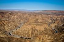 Il Fish River Canyon, nella Namibia meridionale (foto di Andrea Mazzella)