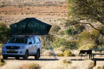 Per i più avventurosi è possibile scegliere la soluzione del self drive in 4x4 con camping. «Il brivido è garantito, ma la sicurezza resta l'aspetto più importante», osserva Alessandra Laricchia (foto di Andrea Mazzella)